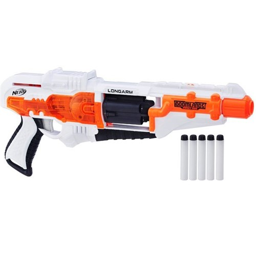 Lançador Nerf Exclusiva Doomlands Longarm B8099 - Hasbro