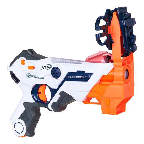 Lançador - Nerf - Laser - Blaster - Alphapoint - Hasbro