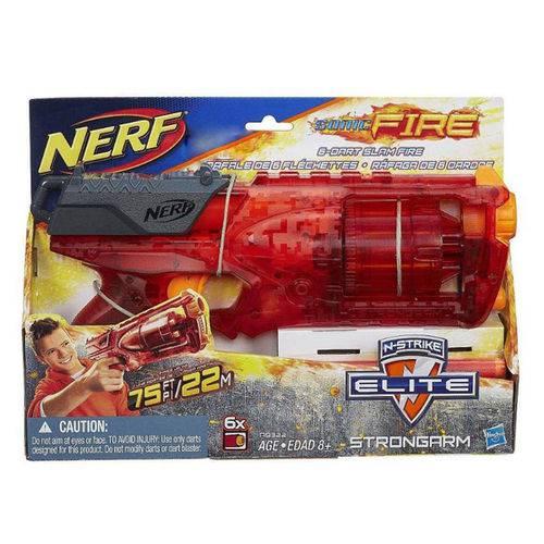 Lançador Nerf N-strike Elite Sonic Fire Strongarm - Hasbro