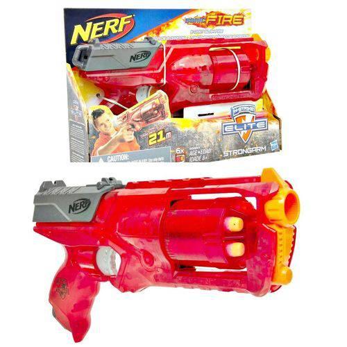 Lançador Nerf Sonic Fire Strongarm N-strike Elite - Hasbro B5993