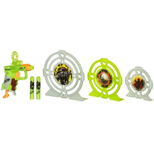 Lançador NERF Zombie Strike Kit de Alvos - Hasbro