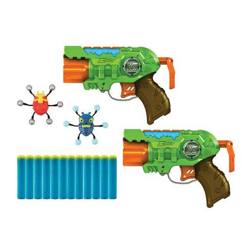 Lançador X-Shot Bug Attack - Double Predator - Candide