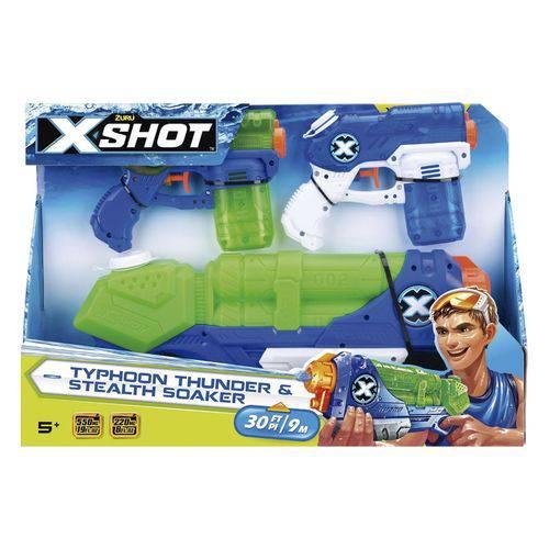 Lançador X-Shot X1 Tormenta X2 Maremoto - Candide