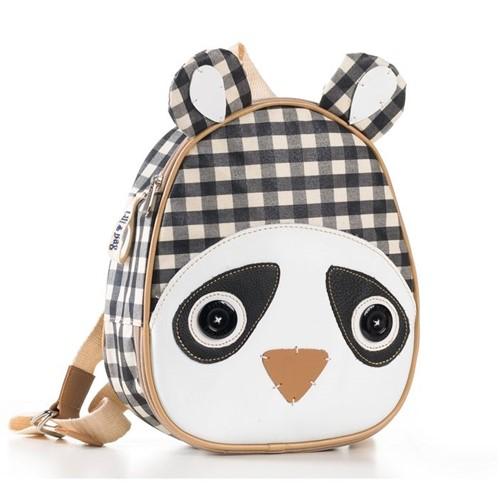 Lancheira Infantil Termica Panda - Mochila para Bebê Lanchinho Termica Panda - LiliBag