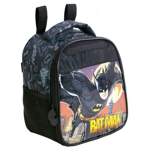 Lancheira Infantil Xeryus 7594 Batman Gothan Guardian Preto