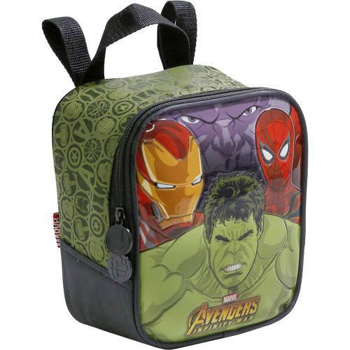 Lancheira Infantil Xeryus Avengers Brawler Verde