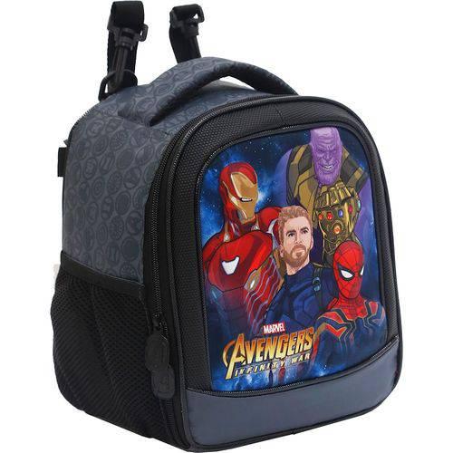Lancheira Infantil Xeryus Avengers Doomed Cinza
