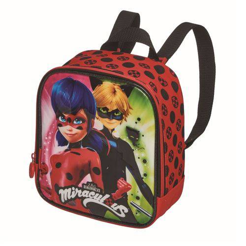 Lancheira Ladybug Miraculous Duo - Pacific
