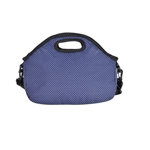 Lancheira Newland Poa Vintage Azul 1009018 Mantica