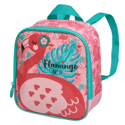Lancheira S/acessorio Pack me Flamingo