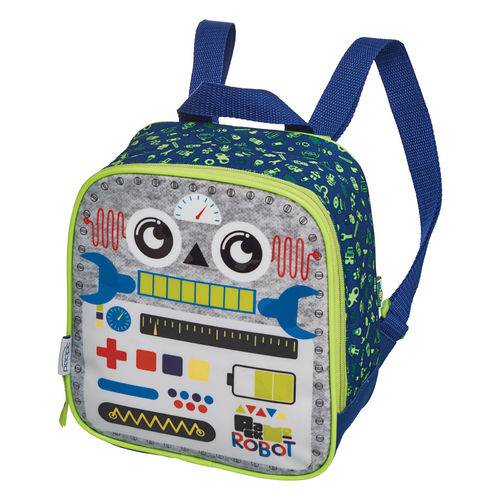 Lancheira S/acessorio Pack me Robot