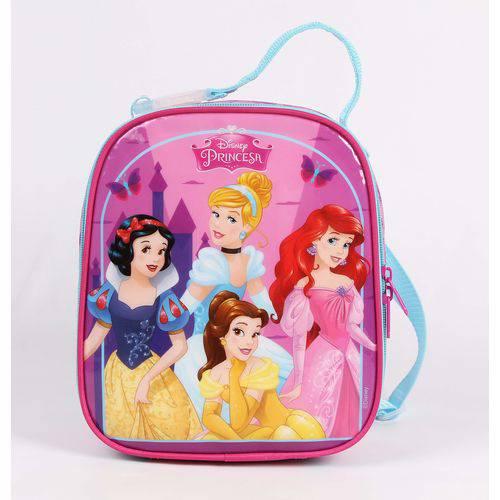 Lancheira Rosa Princesas Disney Dermiwil