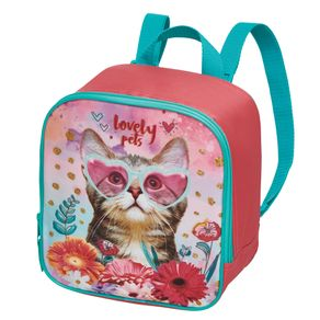 Lancheira S/Ac Mft Infantil Lovely Pets - G
