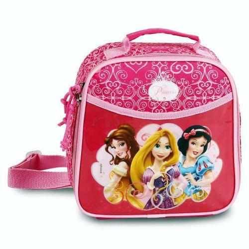 Lancheira Soft Princesas Rosa - Dermiwil 51055