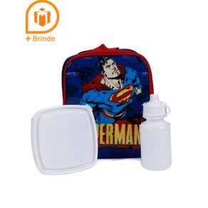 Lancheira Superman Infantil para Menino - Azul