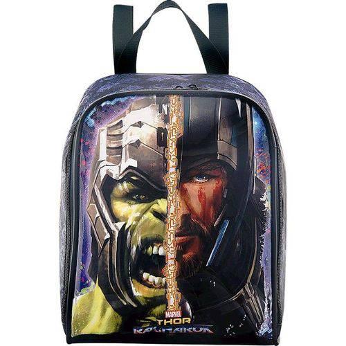 Lancheira Térmica Escolar Infantil Thor Ragnarok Marvel