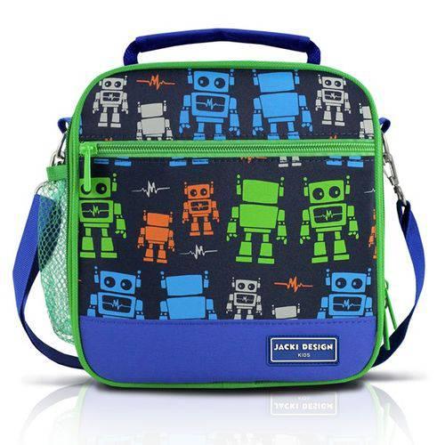 Lancheira Térmica - Robô Azul Jacki Design