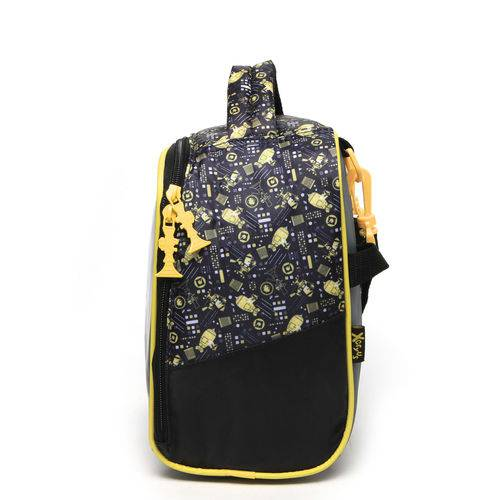 Lancheira Xeryus Minions Gadget Preta/Amarela