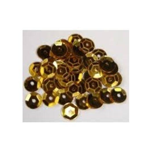 Lantejoula Ouro N6 P 10gr Nova Papelaria