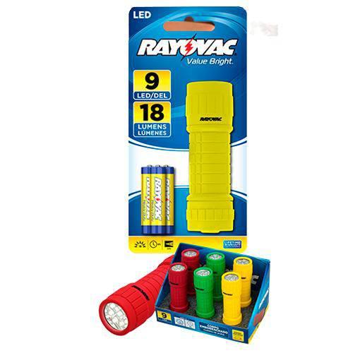 Lanterna 9 Leds Value Bright a Pilha - Rayovac