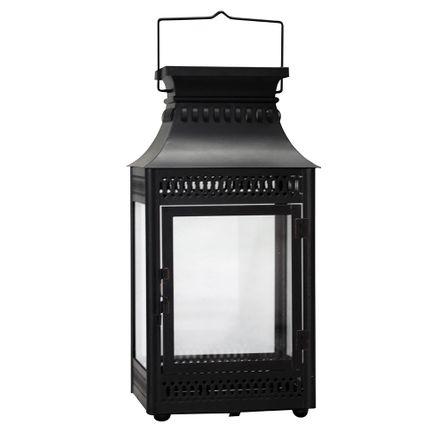 Lanterna Decorativa - 45,5cm - Preta