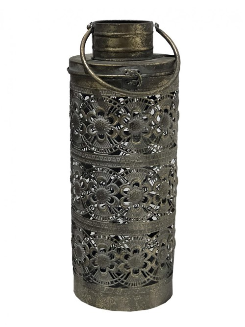 Lanterna Metal Vazada 51cm - Occa Moderna