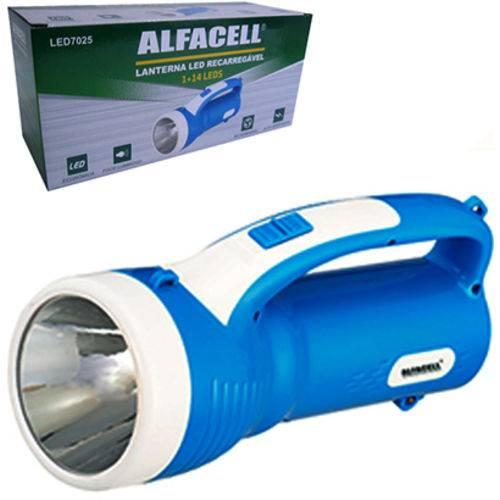 Lanterna Recarregável Bivolt com 15 Leds