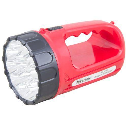 Lanterna Recarregável de 15 Leds-Western-El-344