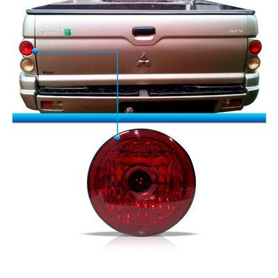 Lanterna Traseira L200 L-200 Sport Outdoor Savana 2004 a 2011 Vermelha