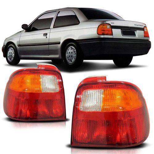 Lanterna Traseira Logus 1992 1993 1994 1995 1996 Tricolor Lado Esquerdo
