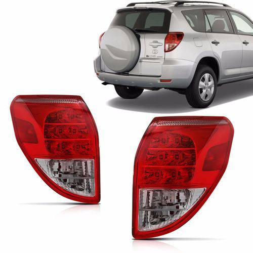 Lanterna Traseira Toyota Rav4 2006 2007 2008 Lado Esquerdo