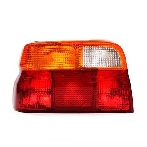 Lanterna Traseira Tricolor Ford Escort Sapão Verona 1993 a 1996 Lado Esquerdo