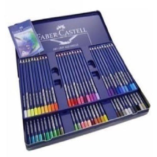 Lapis Aquarela Faber Castell Art Grip Aquarelle 60 Cores