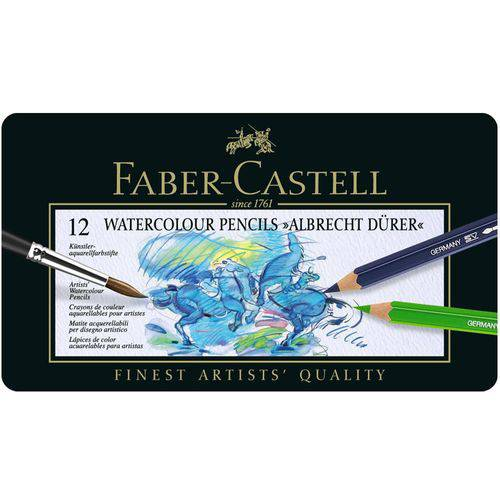Lápis Cor 24 Cores Faber-castell Art Grip Aquarelle 114224