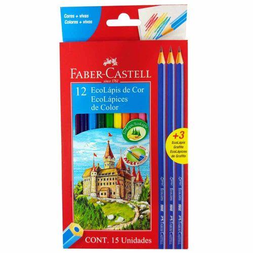 Lápis de Cor 12 Cores Faber Castell 990920