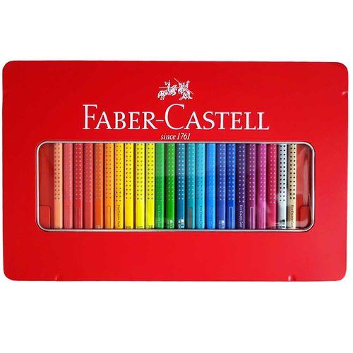Lápis de Cor 48 Cores Grip Faber Castell 1027022