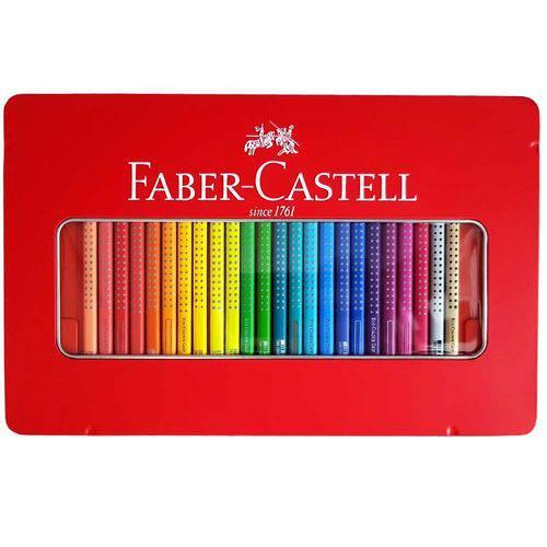 Lápis de Cor 48 Cores Grip Faber Castell