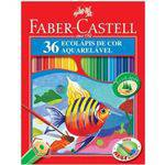 Lápis de Cor 36 Cores Aquarelavel Faber-castell