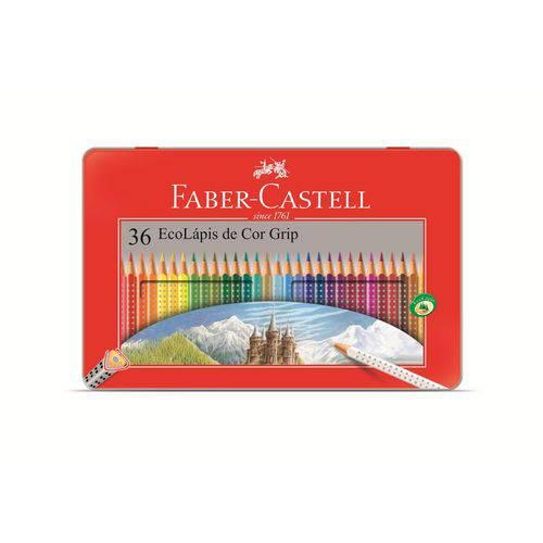 Lápis de Cor 36 Cores Grip - Faber Castell