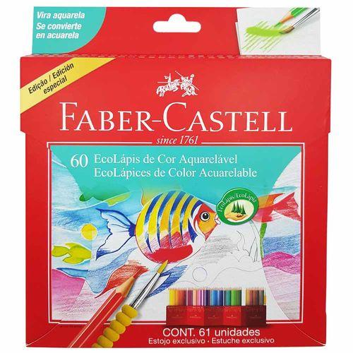 Lápis de Cor 60 Cores Aquarela Faber Castell 130432