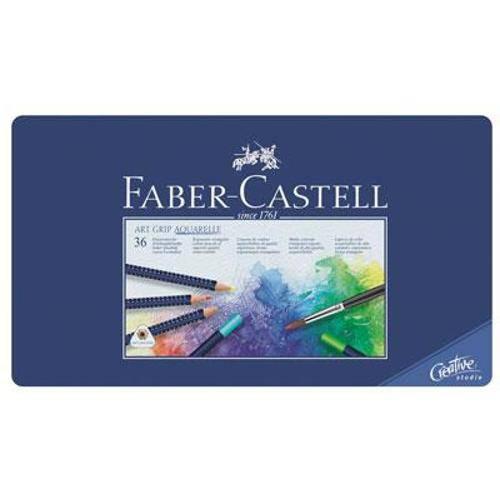 Lápis de Cor 60 Cores Art Grip Aquarelle - Faber Castell