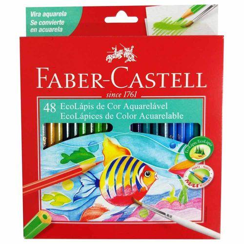 Lápis de Cor Aquarela 48 Cores Faber Castell 130872