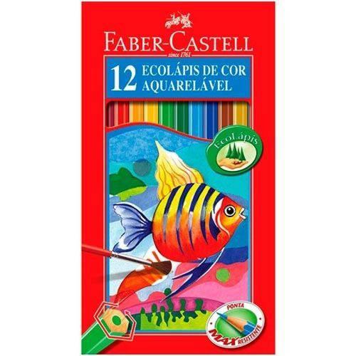 Lápis Faber Castell Aquarelavel 12 Cores