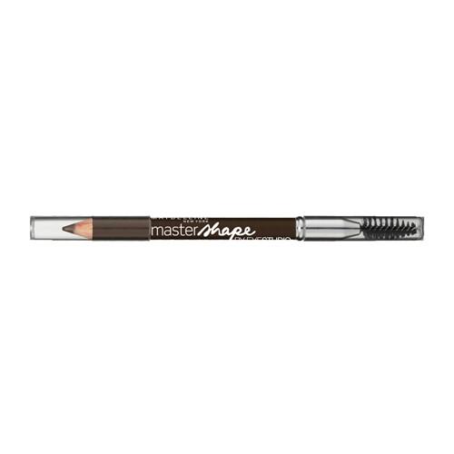 Lápis para Sobrancelha Maybelline Master Shape Cor Marrom com Escova com 0,65g