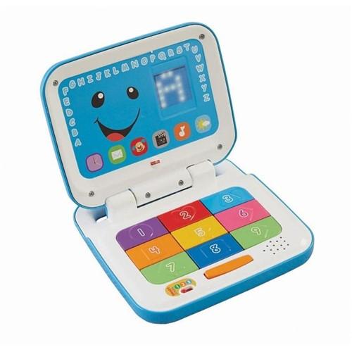 Laptop Aprender e Brincar Novo Fisher-Price - Azul Cfp18 - FISHER-PRICE