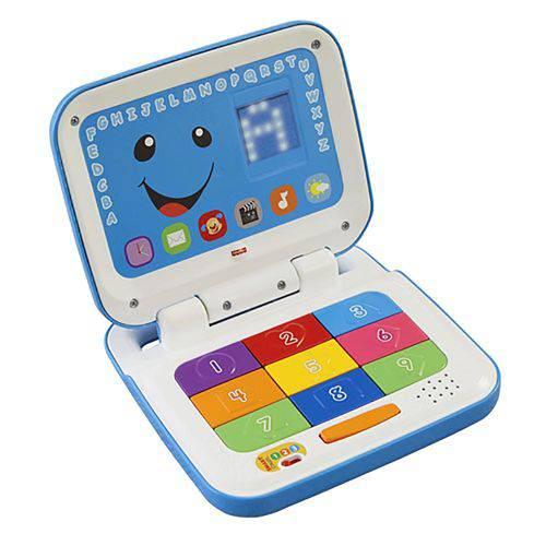 Laptop Azul Fisher Price Aprender e Brincar - Mattel