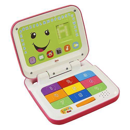 Laptop Rosa Fisher Price Aprender e Brincar - Mattel