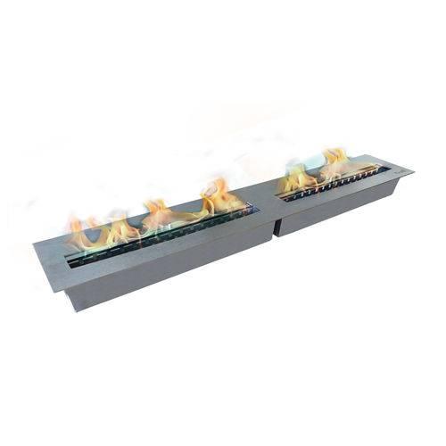 Lareira Ecológica - Queimador Slim 120 Firelli