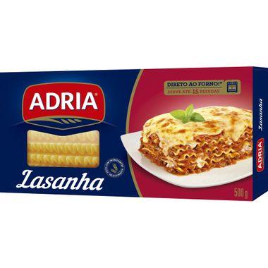 Lasanha Italianíssima Adria 500g