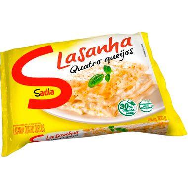 Lasanha Sabor 4 Queijos Sadia 600g